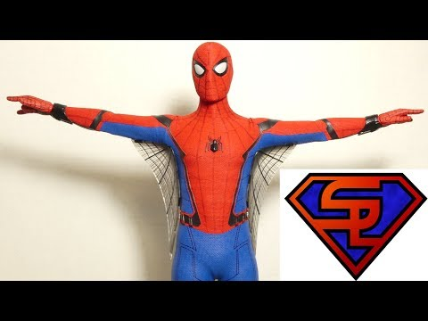 Spider-Man Homecoming Hot Toys Spider-man Movie Masterpiece 1/6 Scale Figure Quickie Review