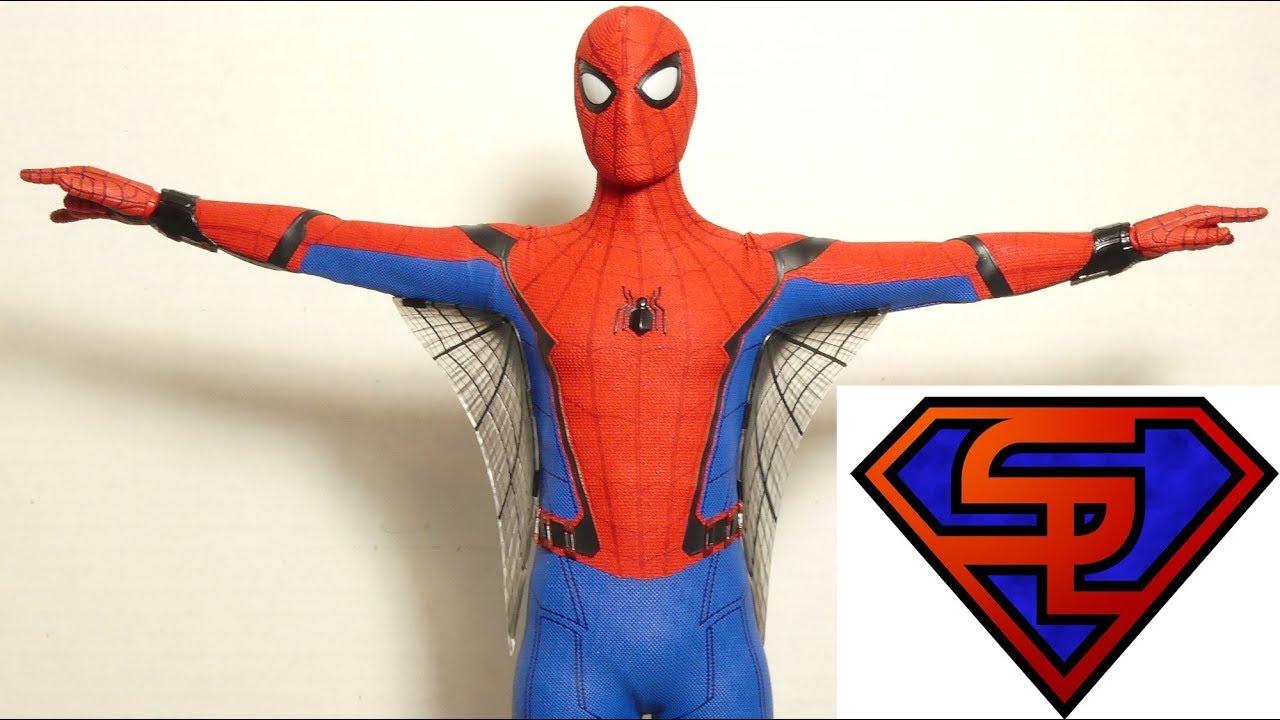 Spider Man Homecoming Hot Toys Spider Man Movie Masterpiece 1 6
