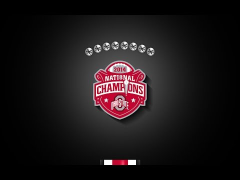 Ohio State Football 2014 - The Chase Is Complete.