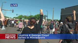 'Justice For George Floyd' Protests Continue In Mpls.