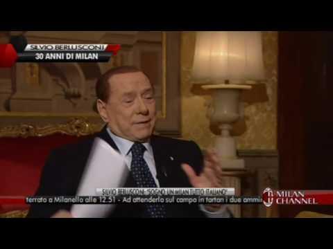 Berlusconi (Presidente Ac Milan 1986-2017)