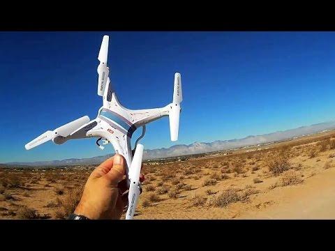 Syma X5C Drone, Out of Range Flight