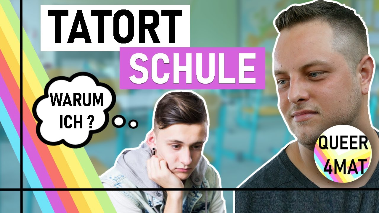 Schwuler Lehrer über Homophobie in der Schule I Queer4mat
