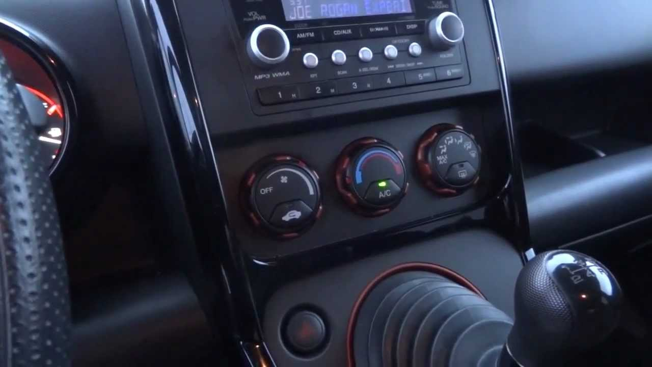 2008 Honda Element SC Exploring The Dash From Drivers Seat