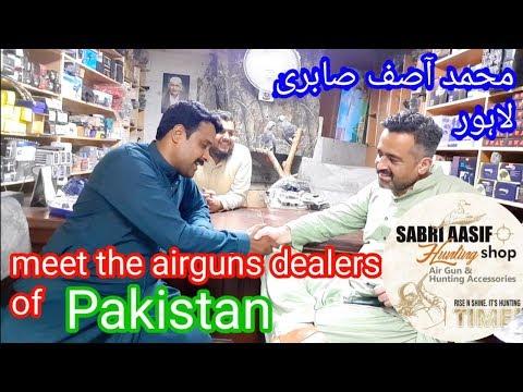 Meet The Airguns Dealers Of Pakistan, Mohammad Asif Sabri SABRI Hunting Shop Lahore