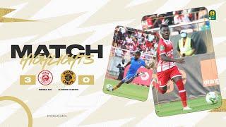 HIGHLIGHTS   Simba SC 3 - 0 Kaizer Chiefs   Quarter-finals 2nd leg   #TotalCAFCL