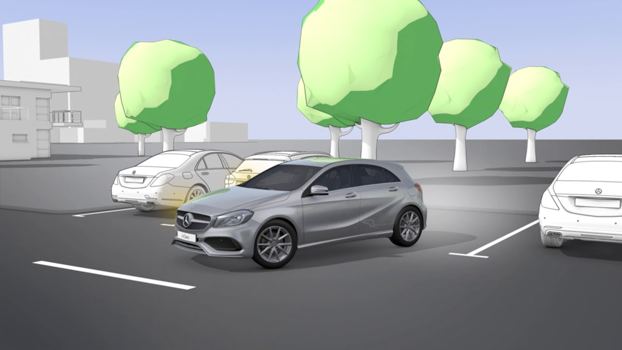 cf01ee726a1 A-Class  Active Parking Assist - Mercedes-Benz original - YouTube