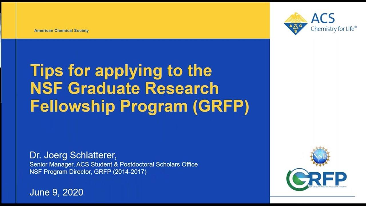 Graduate dissertation research fellowship