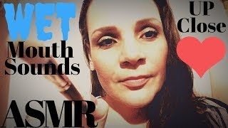 ASMR: Wet Mouth Sounds  Personal Attention   LAYERED SOUNDS ASMR  Camera Brushing