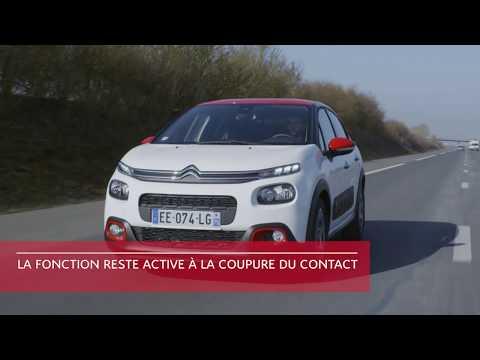 Citroën C3 : Reconnaissance des panneaux de vitesse et recommandation