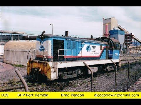 SRF36- ILLAWARRA Pt2 - Port Kembla Loco & Wollongong Yard