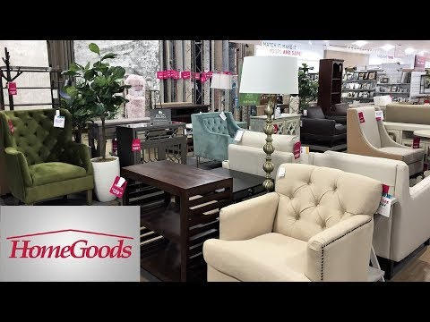 Home Goods Furniture Armchairs Chairs Tables Home Decor Shop With Me Shopping Store Walk Through 4k Youtube