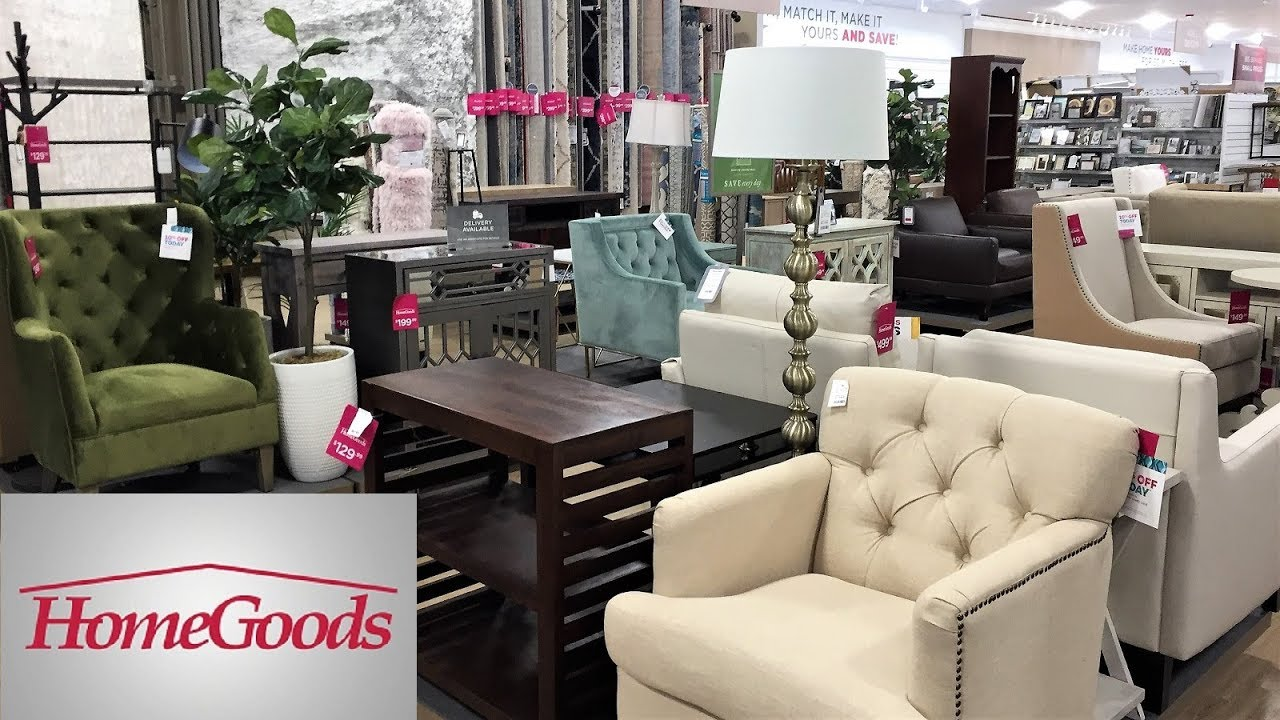 HOME GOODS FURNITURE ARMCHAIRS CHAIRS TABLES HOME DECOR SHOP WITH ME  SHOPPING STORE WALK THROUGH 15K