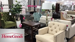 HOME GOODS FURNITURE ARMCHAIRS CHAIRS TABLES HOME DECOR SHOP WITH ME SHOPPING STORE WALK THROUGH 4K thumbnail