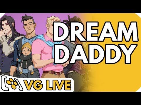 Dream Daddy: A Dad Dating Simulator Characters In Alice