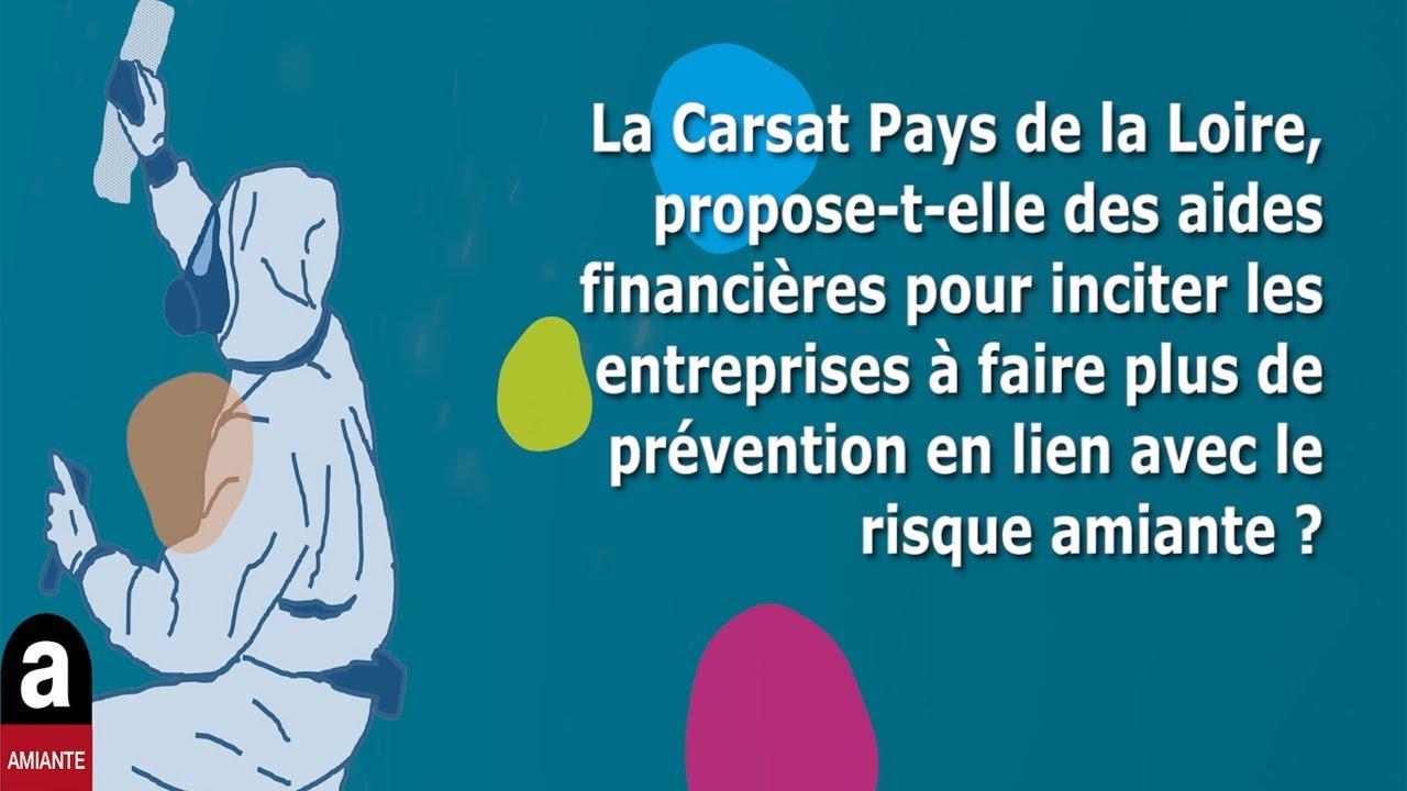 La Carsat Pays De La Loire Propose T Elle Des Aides Financieres En