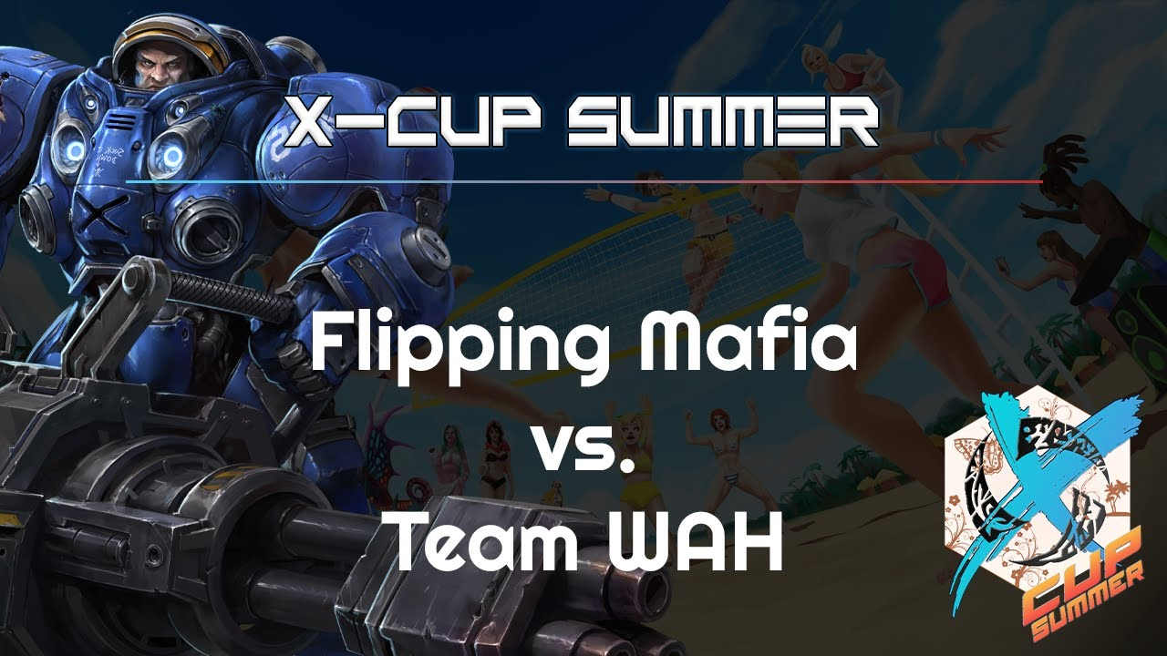 WAH vs. Flipping Mafia - X-Cup Summer - Heroes of the Storm 2021