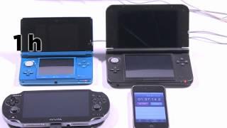 Temps de recharge des consoles portables : 3DS 3DS XL PS Vita - Vidéo Gamekult