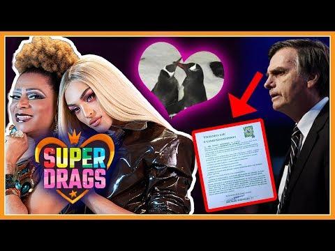 Bolsonaro quer barrar Direitos LGBT? | Super Drags com Pabllo Vittar | Pinguins Gays - Deu Na Semana