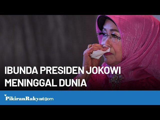 Indonesia Berduka, Ibunda Presiden Joko Widodo telah Berpulang