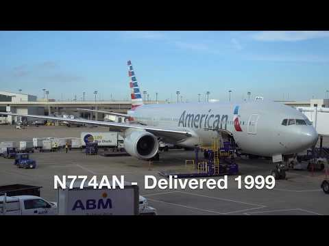 American Airlines Boeing 777-223er / Dallas Ft. Worth To