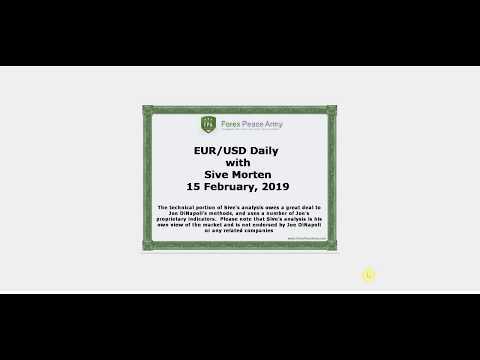 ForexPeaceArmy   Sive Morten Daily, EUR/USD 02.15.2019