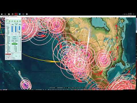 10/13/2017 -- Pacific earthquake activity increasing -- California to Midwest USA + NEW deep EQ's
