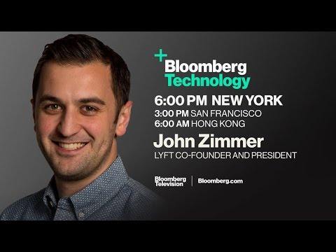 Lyft Co-Founder Talks Self-Driving Car Project on 'Bloomberg Technology'