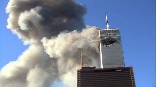 NIST FOIA 09-42: R14-UC -- Segalla 01-29 (WTC1 Burning/Glimpse of WTC2 Fireball/Plane Debris)