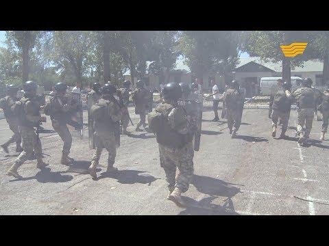 Казахстанские солдаты готовятся к миротворческой миссии в Ливане