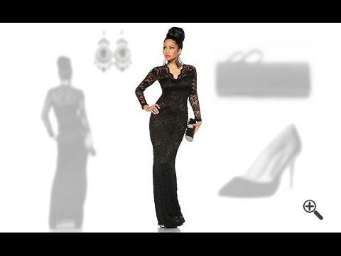 elegante abendkleider lang mit rmel und spitze 3 abendoutfit ideen f r jule youtube. Black Bedroom Furniture Sets. Home Design Ideas