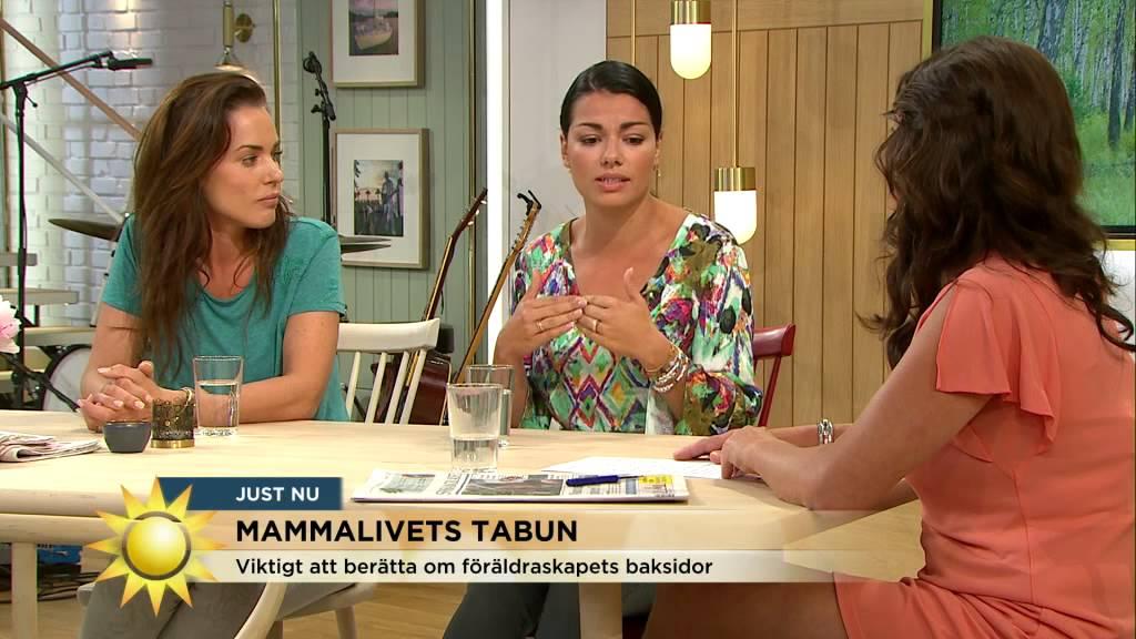 """Download Tilde Fröling & Carin Da Silva om mammalivets tabun """"Hade två plommon där bak"""" - Nyhetsmorgon (TV4)"""