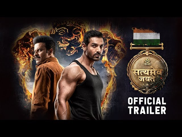 Official Trailer: Satyameva Jayate | John Abraham | Manoj Bajpayee | Aisha S | Milap Milan Zaveri