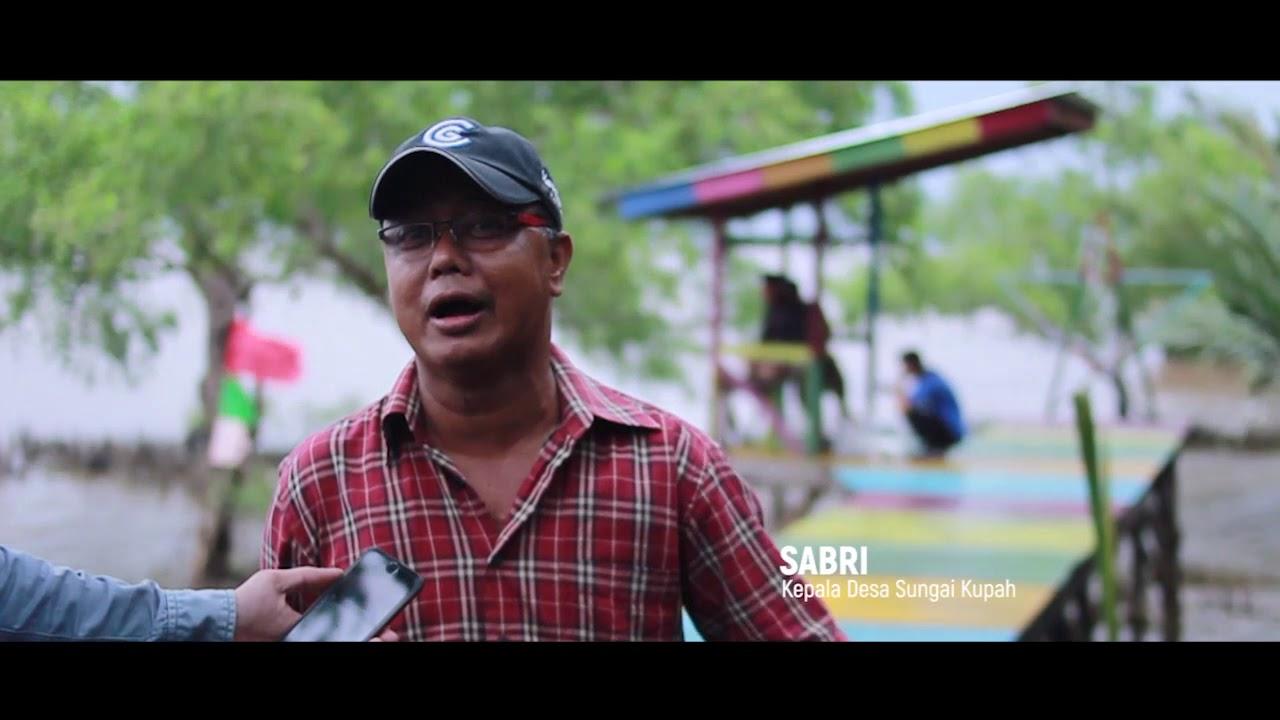 Wisata Mercusuar Dan Mangrove Di Desa Sungai Kupah Youtube