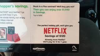 Optimum Cable Netflix Scam Fios Dish Network Cablevision