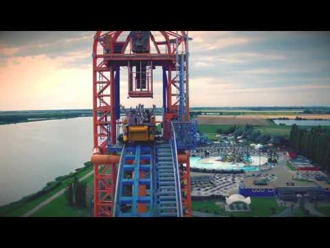 Divertical, nuovo video in 4k con riprese Drone - Mirabilandia 2016