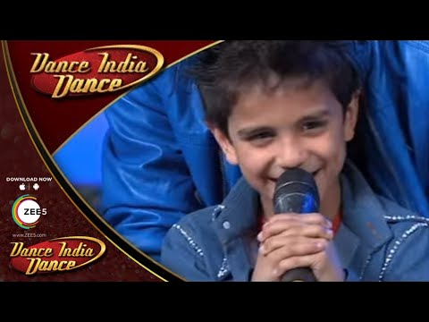 Sachin Enacts Shah Rukh Khan - DID Lil Masters 3 Behind The Scenes