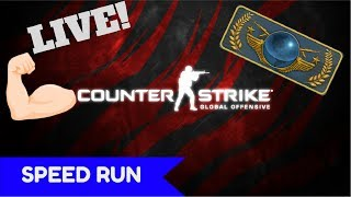 CS:GO - Global ELITE Pe SMURF? #SPEED RUN | LIVE !!!