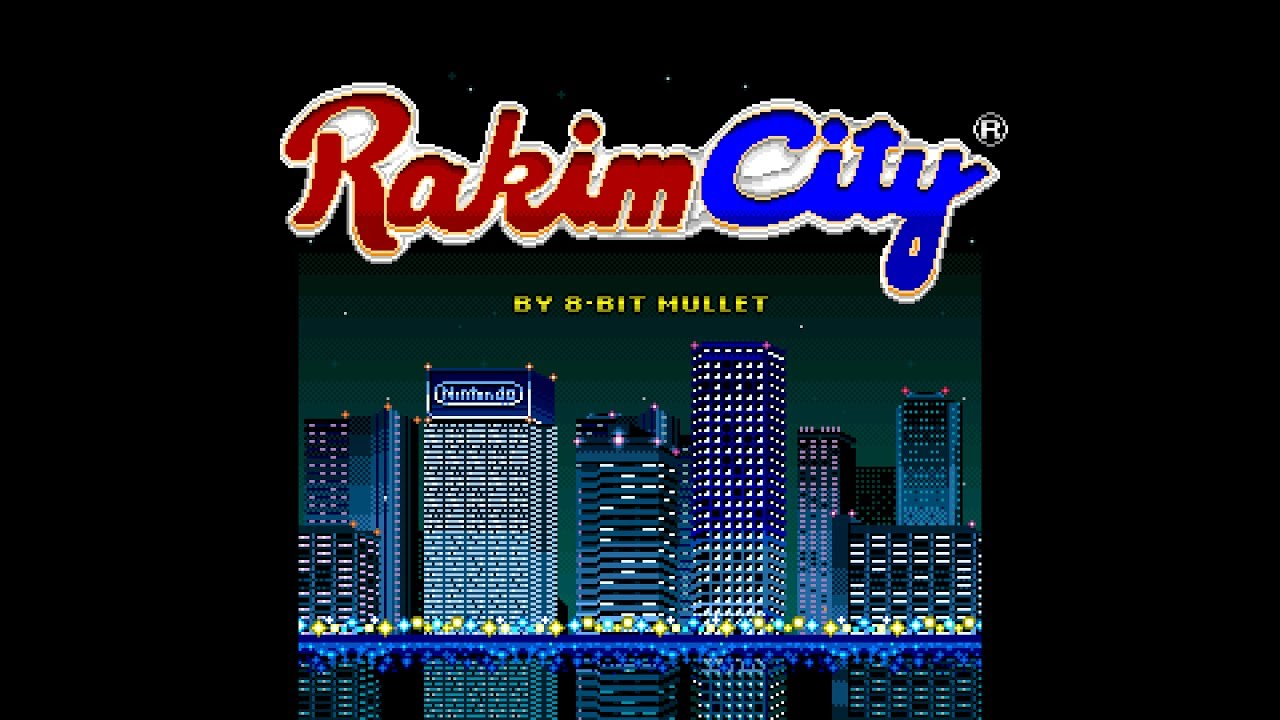 Eric B and Rakim Remix (Sim City SNES Mashup) — 8-Bit Mullet