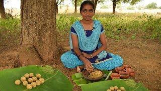 Roasted Bengal Gram Laddu in Tamil | சுவையான  பொட்டுக்கடலை லட்டு | Kala Kitchen |EP# 2 | Wild Food