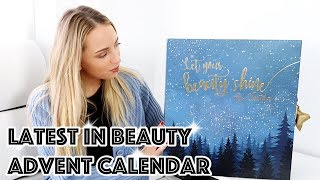 LATEST IN BEAUTY / YOU BEAUTY ADVENT CALENDAR 2018 UNBOXING | PAULA HOLMES