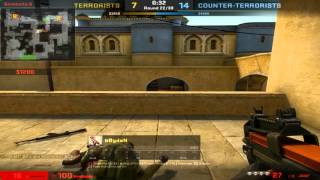 cs go ace on dust 2 with p90 1vs5 rank legendary eagle master