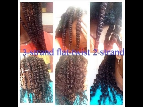 Twist Off 3 Strand Twist Vs 2 Strand Twist Vs Flat Twist