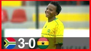 GHANA VS SOUTH AFRICA0-3-GOALSampHIGHLIGHTS-AISHA BUHARI CUP