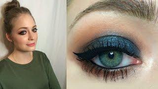 Темный вечерний макияж: видео-урок