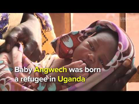 """I thought I would deliver on the way to Uganda"" - South Sudanese mom"