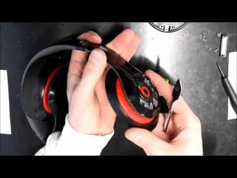 How to Replace Beats By Dre Studio 2 Wired Metal Hinge Repair Fix JoesGE