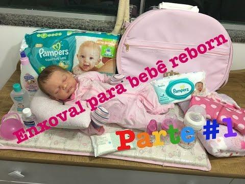 O que comprar para o enxoval do seu bebê reborn (Parte#1) - Ana Paula Guimarães