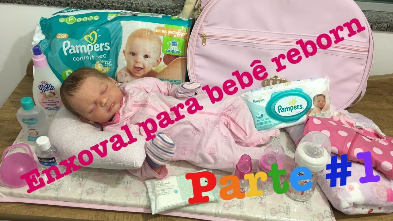 97221a4dc O que comprar para o enxoval do seu bebê reborn (Parte 1) - Ana Paula  Guimarães - YouTube
