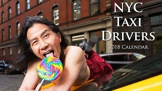 The NYC Taxi Drivers Calendar Is So Hot It Might Stop Traffic • Norbird Media
